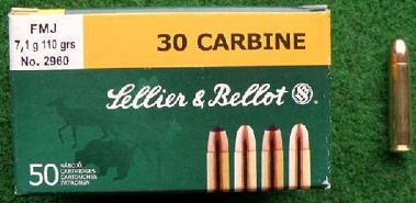 SELLIER BELLOT .30 Carbine