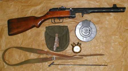 Soviet State Arsenal in Tula PPSh 41 7,62x25mm Soviet