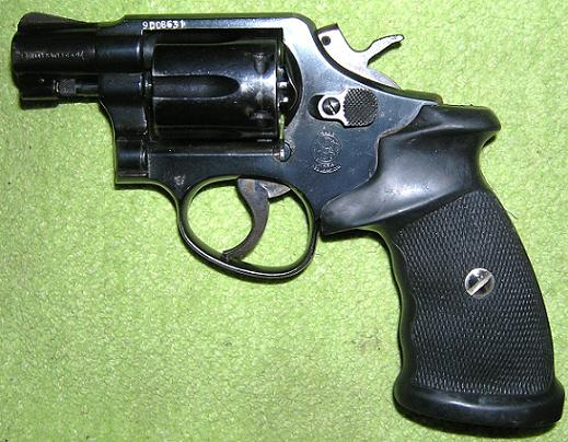 SMITH WESSON 10-7 .38 Spec.