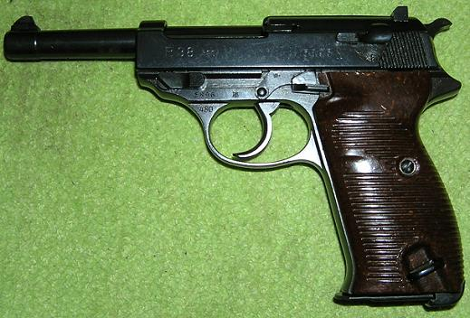 Walther P 38 9 mm Luger