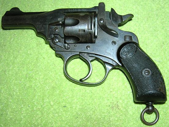 Webley Scott MK IV Pocket .38 SW