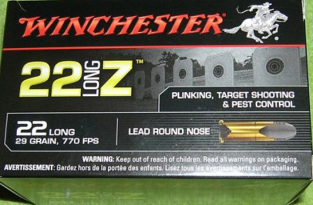 WINCHESTER .22 Long Z